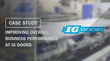 Case Study Improving Overall Business Performance at IG Doors