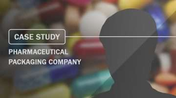 Case Study Pharmaceutical Packaging Company