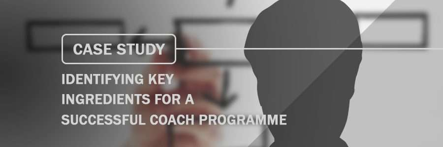 Case Study Identifying Key Ingredients for a Successful Coach Programme