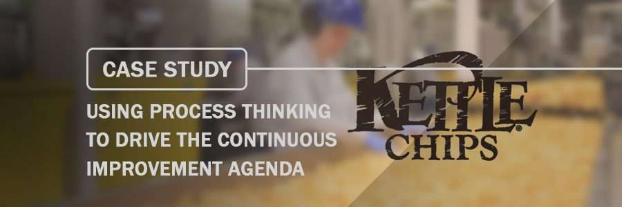 Case Study Using Process Thinking to drive the Continuous Improvement agenda