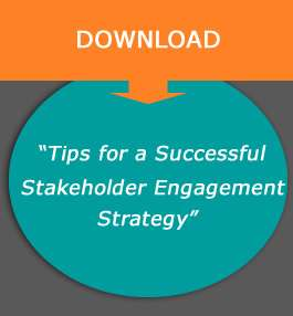 download our Tips for a successful stakeholder engagement strategy