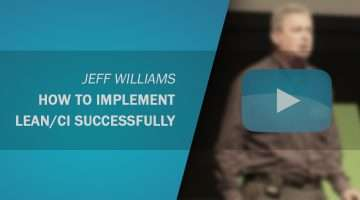 How to Implement Lean/CI Successfully - Jeff Williams