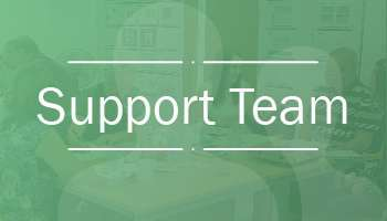 link image to the Support teampage