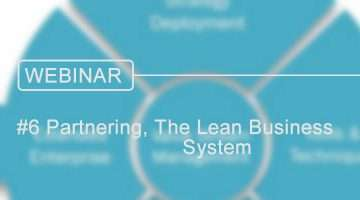 lean business system partnering