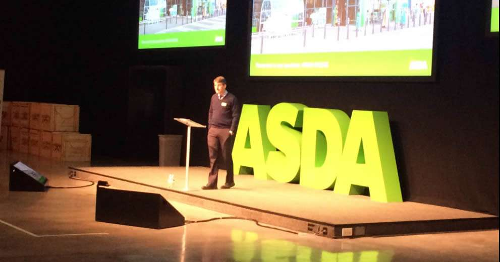 image of Asda CEO Sean Clarke