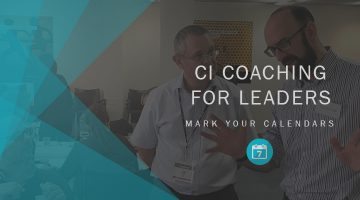 CI Coaching for Leaders Event