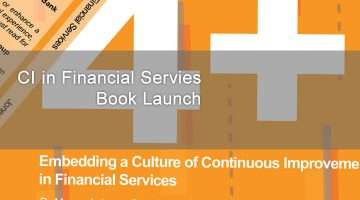 Book cover for Continuous Improvement in Financial Services