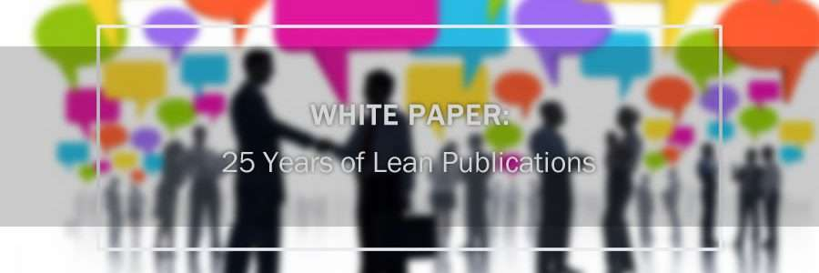 25 years of lean publications cover image