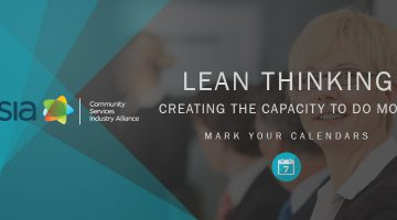 Lean thinking creating the capacity to do more Event