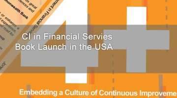 Continuous Improvement Book Launch USA