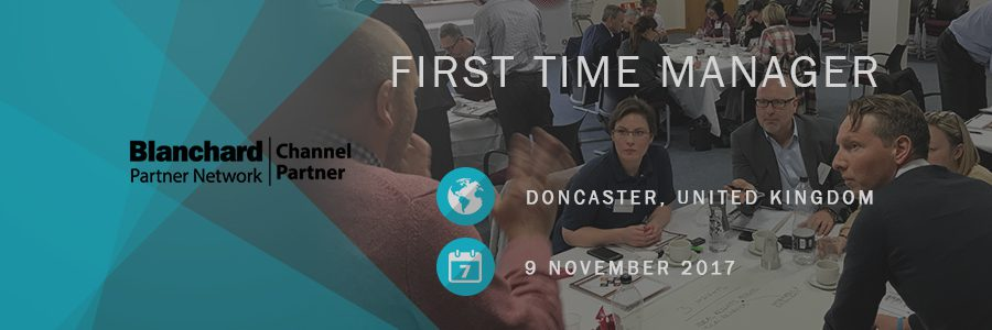 First Time Manager Doncaster Nov17