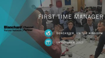 First Time Manager Doncaster Oct17