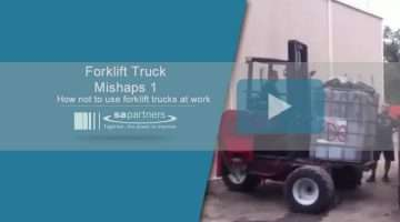 image of video title text and pic of forklift