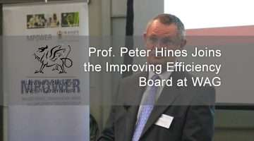 Prof. Peter Hines and WAG logo