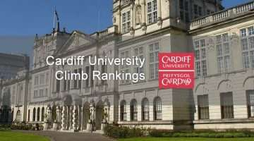 image of cardiff university's building