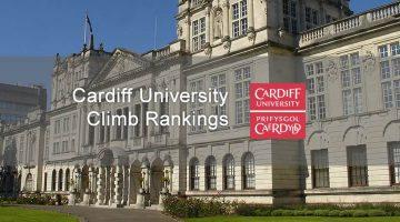 image of cardiff university's building