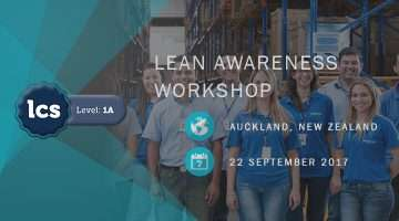 Lean Awareness LCS1a Auckland