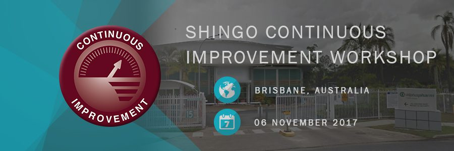 Shingo Continuous Improvement Workshop Mylan Alphapharm