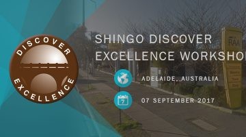 Shingo Discover Excellence Workshop Royal Automobile Association Adelaide