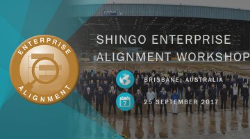 Shingo Enterprise Alignment Workshop Airbus Brisbane