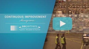 Continuous Improvement at Musgrave Ireland website