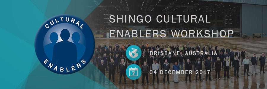 Shingo Cultural Enablers Workshop Airbus Brisbane