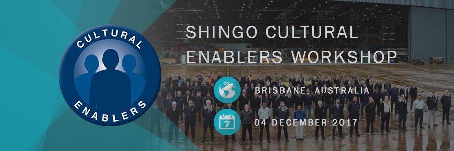 Shingo Cultural Enablers Workshop Airbus Brisbane