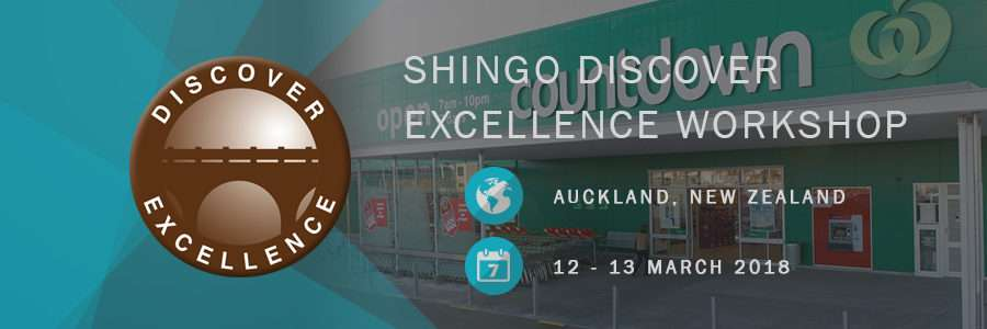 Shingo Discover Excellence Workshop Countdown