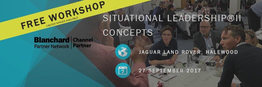 Situational Leadership Jaguar Land Rover Sep17
