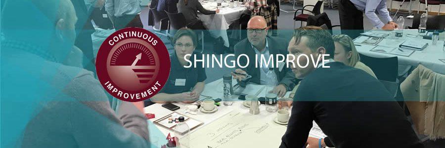 banner image for Shingo Improve workshop
