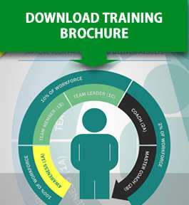 image of lean training brochure