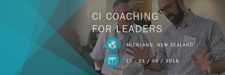 CI Coaching for Leaders 20 21 June 18 Event