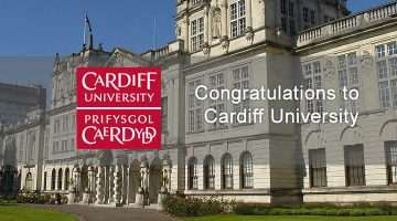 image of Cardiff University and logo