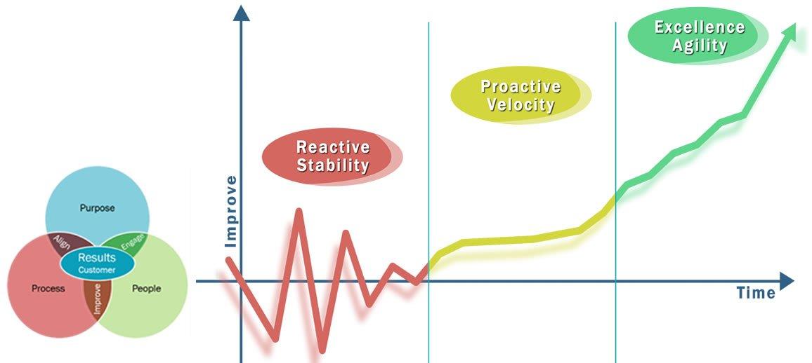 Enterprise Excellence Assessment graph