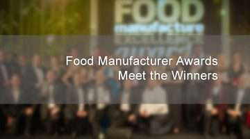 blurred image of the food manufacturer awards winners 2017