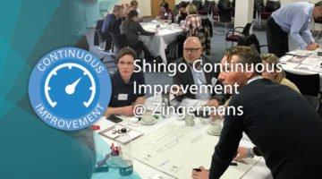 shingo continuous improvement banner