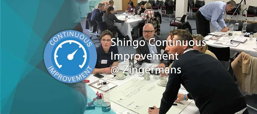 shingo continuous improvement banner