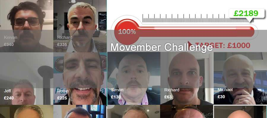 face montage of those who took ;artin the charity challenge