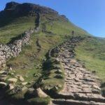 climb up hill