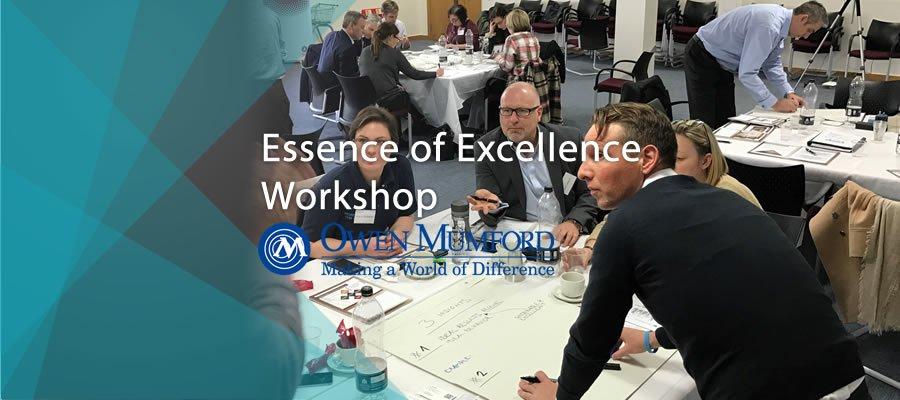 EssenceofExcellence Workshop Owen Mumford banner image
