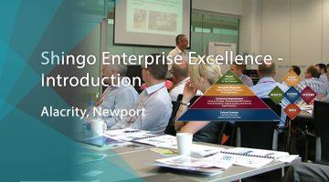 Shingo Enterprise Excellence Alacrity banner