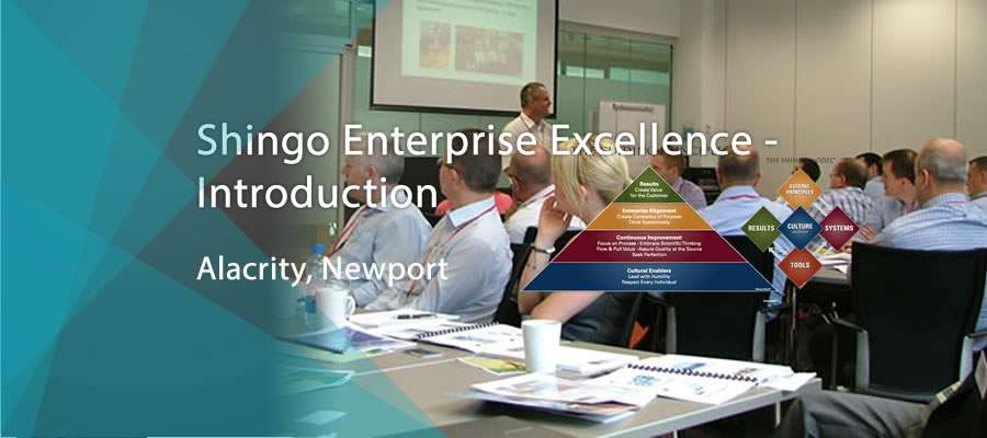 Shingo Enterprise Excellence Alacrity banner