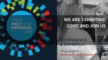 nepic news banner showing conference details and dates.