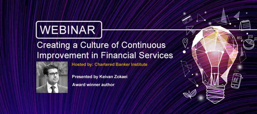 culture of continuous improvement webinar banner