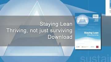 Staying Lean Thriving banner image