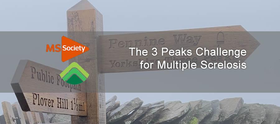 banner image showing 3 peaks sign post