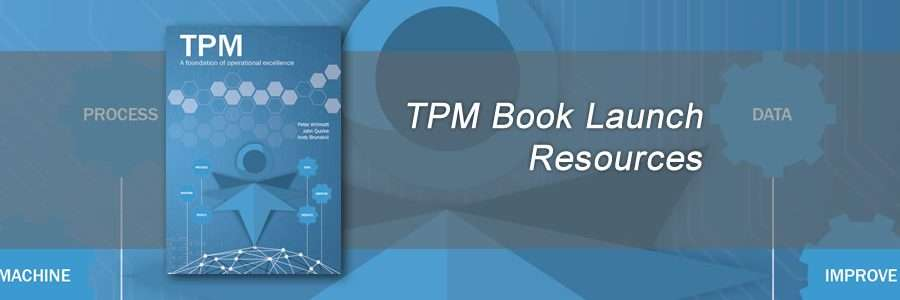 Total Productive Maintenance resources from book launch banner