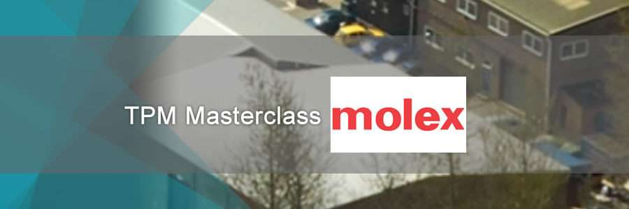 Total Pruductive Maintenance Masterclass Molex banner