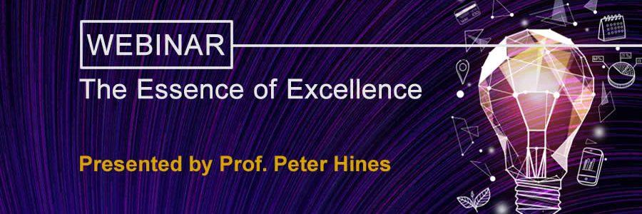 essence of excellence webinar banner image
