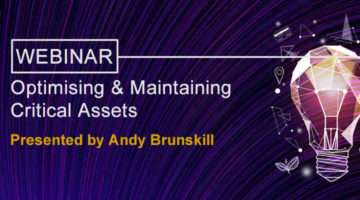 Optimising Maintaining Critical Assets banner image
